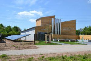 Solarthermieanlage und Heizhaus